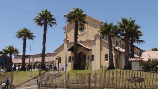 Concón, Chile: The Church in Con Con village.