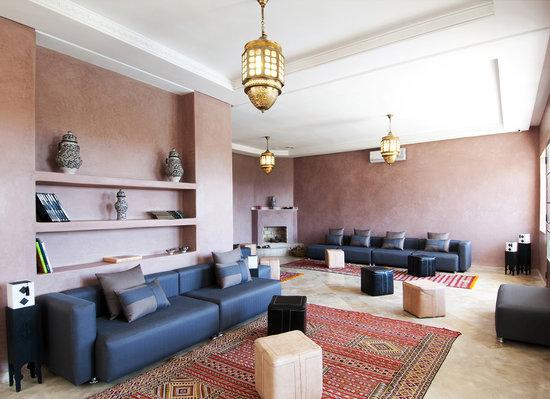 Villa Agapanthe: Bar Salon Marocain