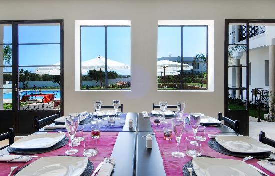 Villa Agapanthe: Restaurant