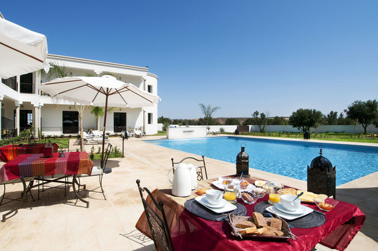 Villa Agapanthe: Restaurant extèrieur