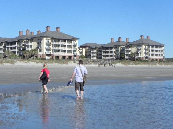 Kiawah Island Golf Resort : Hotel and beach at The Sanctuary