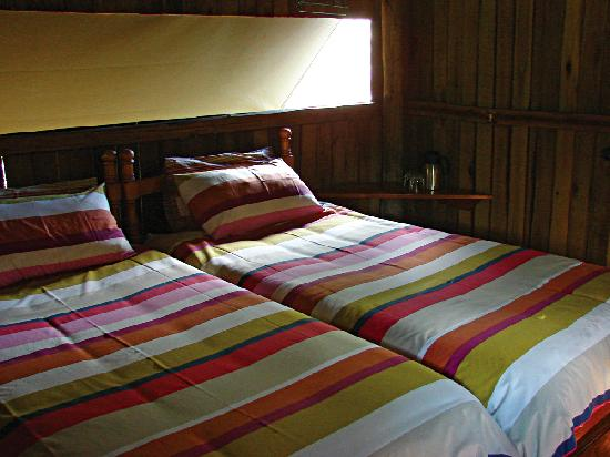 Mosetlha Bush Camp & Eco Lodge: Comfy beds!