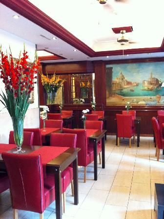 Hotel Admiral Geneva: Restaurant Petit Déjeuner
