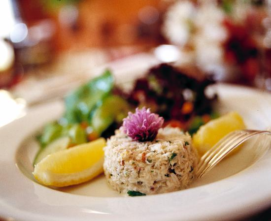 Rosleague Manor Hotel: Crab Starter