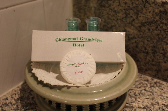 Chiangmai Grandview Hotel: complimentary toiletries