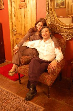 هوتل بوتيك فينديميا بريميوم: Propietarios Hotel Vendimia