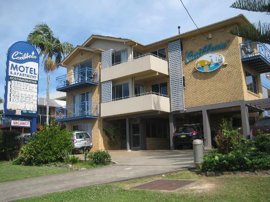 Caribbean Motel: Ansicht von der Strasse