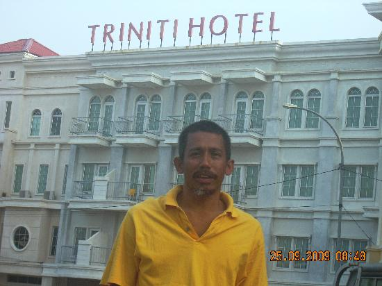 Triniti Hotel Batam: taken during my trip to batam