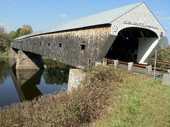 Saint-Gaudens National Historic Site: Covered Bridge, New Hampshire