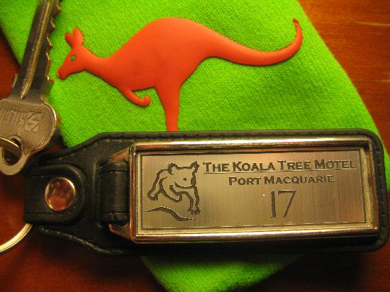 Koala Tree Motel: Keyring