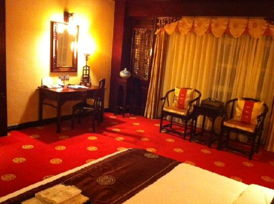 Homeland International Hotel : Desk With Free Internet