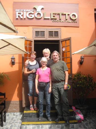 Rigoletto Lima: Mona, Mats, Anita & Johnny from Sweden