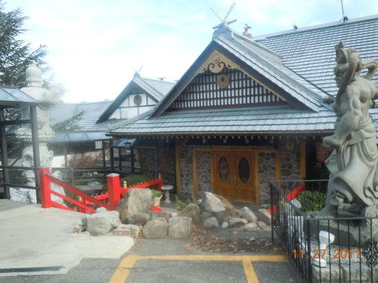 Mt Fuji Restaurant: Outside