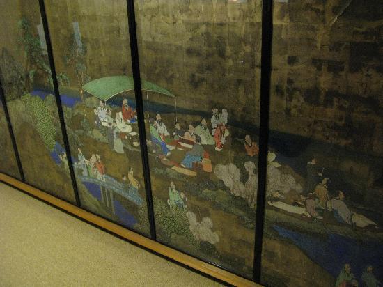 Akebono: 襖絵が見事です