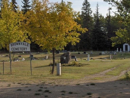 Brownvale Cemetery has been in use since the 1950s on land donated by a local farmer.