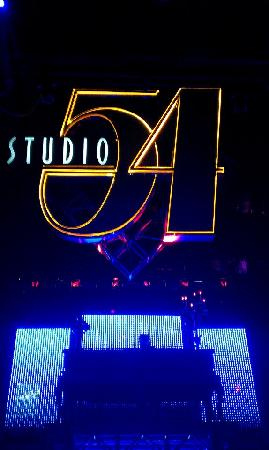 Studio 54: Stage and DJ booth
