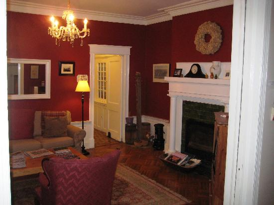 Adam's Inn sitting room