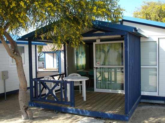 Parque de campismo Orbitur Ilha de Armona: Bungalows