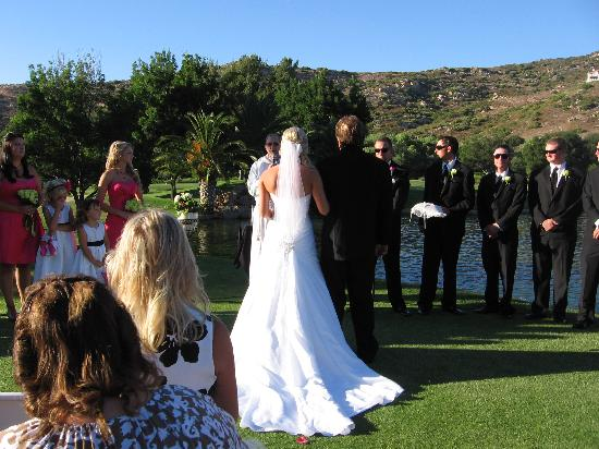 San Vicente Golf Resort: Wedding on San Vicente Golf Course