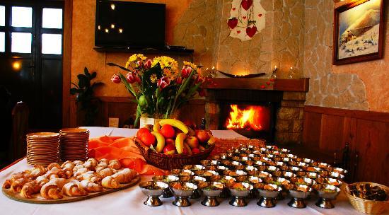 Szrenica Hotel: Słodki bufet