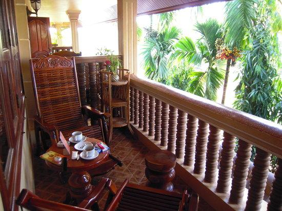 Shining Angkor Boutique Hotel: Balcony