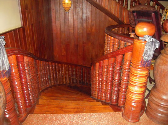 Shining Angkor Boutique Hotel : Staircase