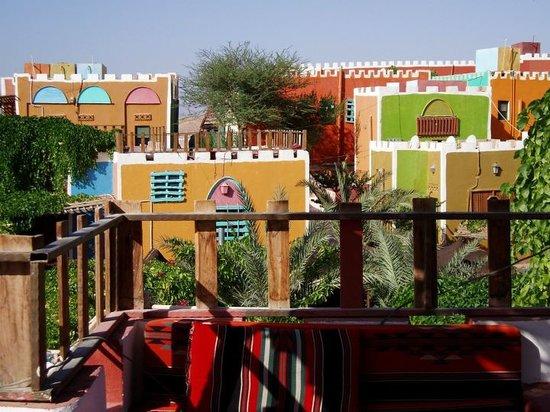 Bedouin Garden Village : top view