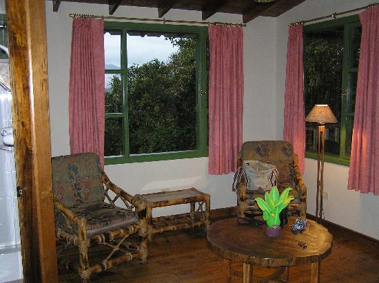Cabanas San Isidro: Sitting area at San Isidro