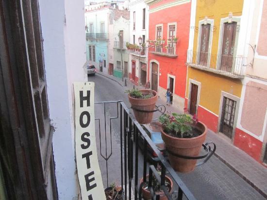 La Casa del Tio: Vista desde el balcón.