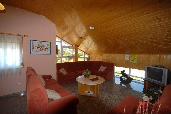 Hotel Valdovino: Sala Tv.