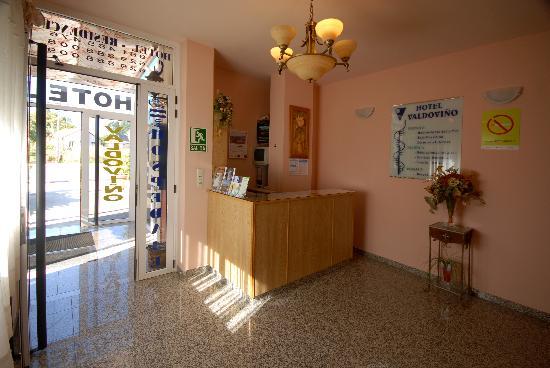 Hotel Valdovino: Recepción