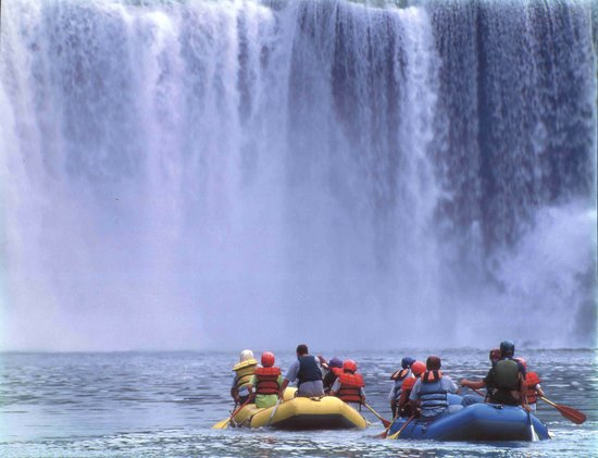 Corbin, Κεντάκι: Rafts below Cumberland Falls