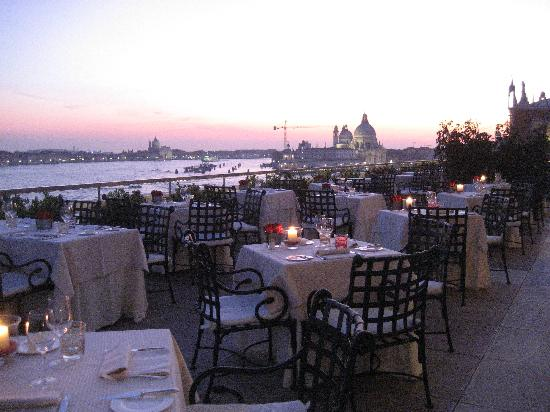 View At Sunset Picture Of Restaurant Terrazza Danieli