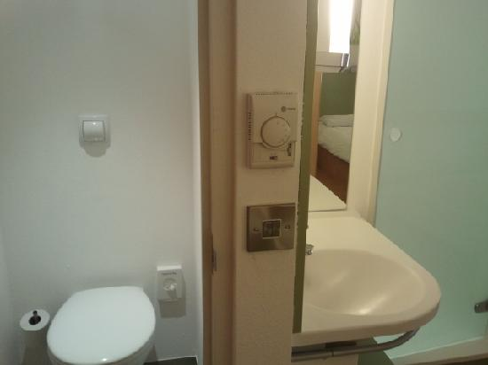 Toilet and showersink in room Picture of Hotel ibis budget