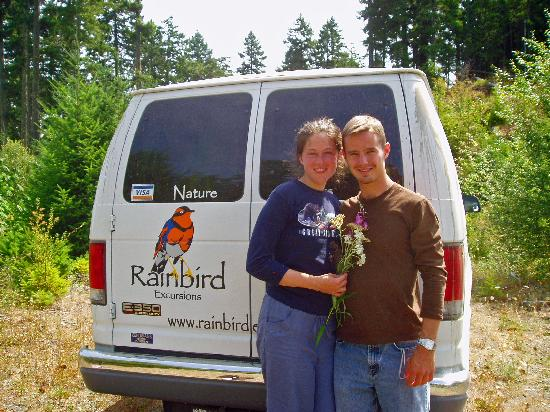 Rainbird Excursions: We use a van to get you to wonderful spots
