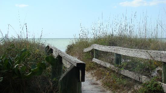 Legacy Vacation Resorts-Indian Shores: Beautiful beach access!