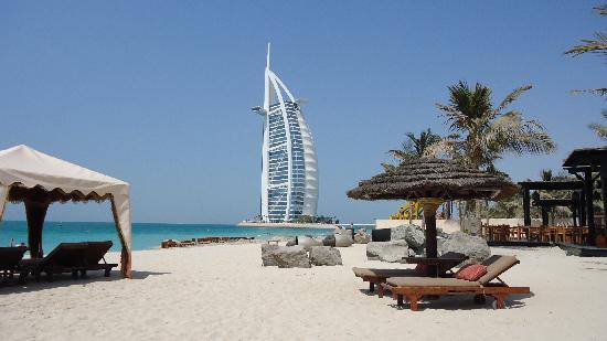 Jumeirah Dar Al Masyaf at Madinat Jumeirah: Beach view