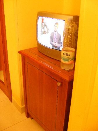 Champagne Palace: tv & minibar
