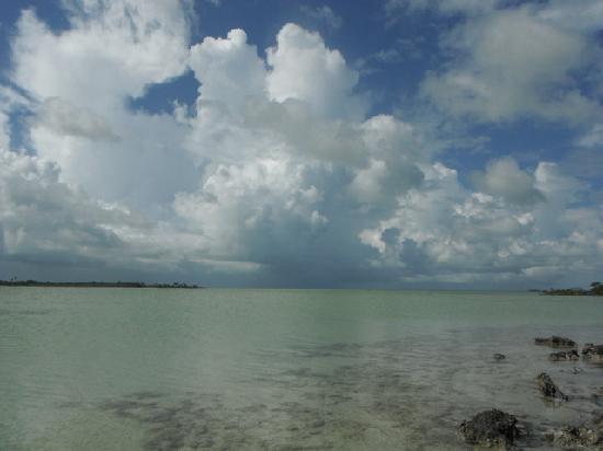 Costa de Cocos: beautiful salt water flats