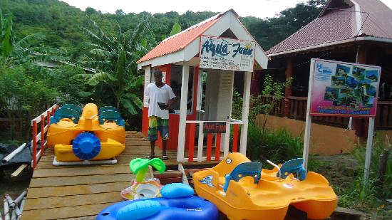 "Lower Bay Beach : Aqua Funn ""Bequia watersport rental"""