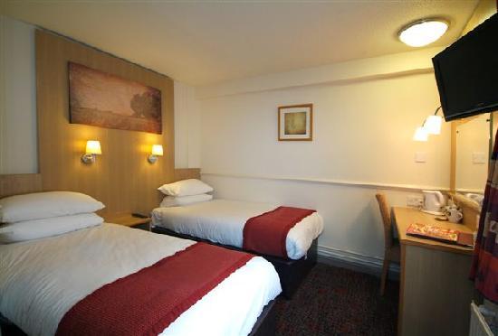 New Inn Hotel: Twin Room