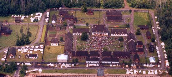 Fort William Historical Park: Great Rendezvous anniversary celebrations.