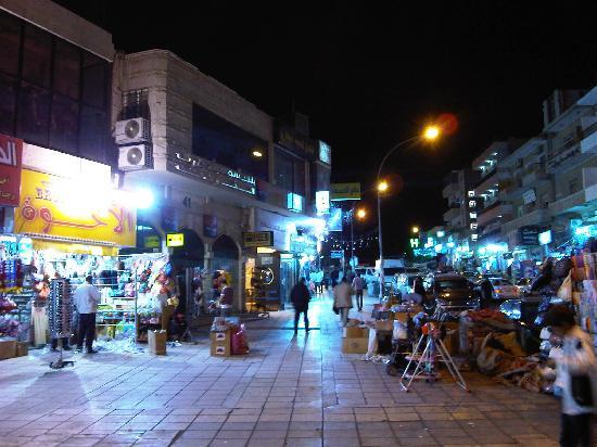 Crystal Hotel : Busy streets Aqaba