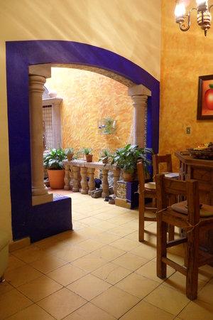 Casa Castillo: Area común