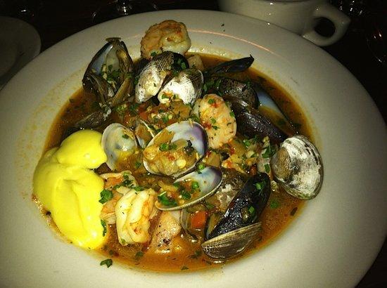 Harvest Moon Cafe: Seafood entre