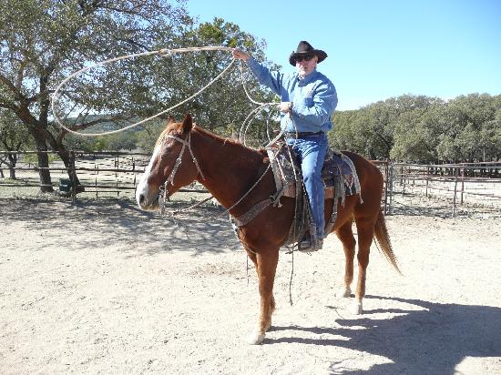 Rancho Cortez: Cowboy Larry shows us the ropes.