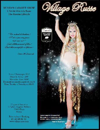 Le Village Russe: Cabaret @ Village Russe