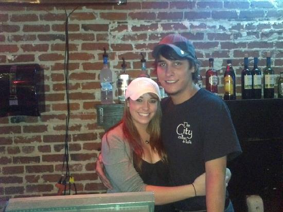 The City Cellar: Cheerful Staff