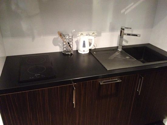 Hipark Grenoble : kitchenette