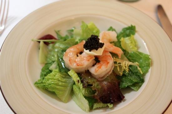 The Chef's Table by La Villa Mahana: Salad from the Epicurian menu. Delicious!